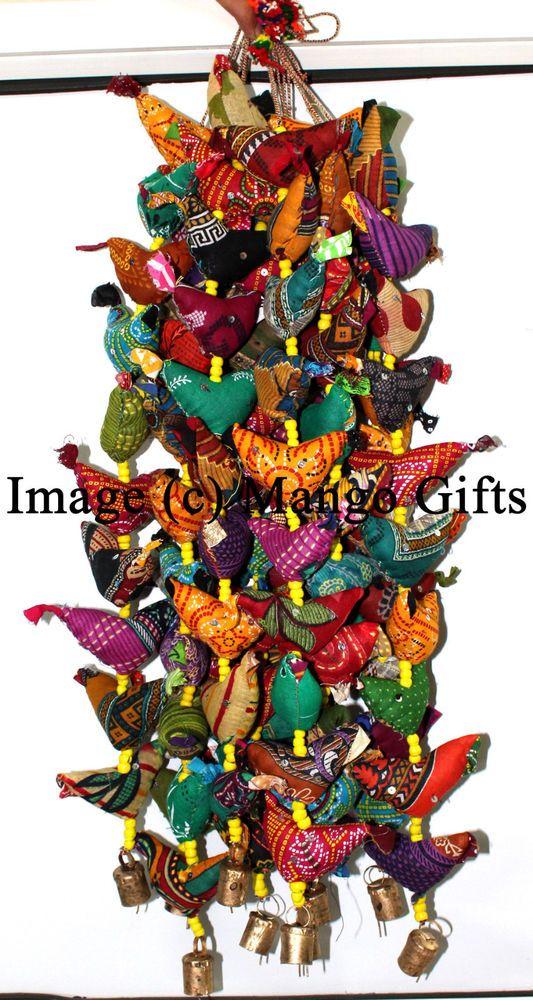indian traditional bird door hanging decorative ornaments wholesale lot 10 pcs handmade traditional