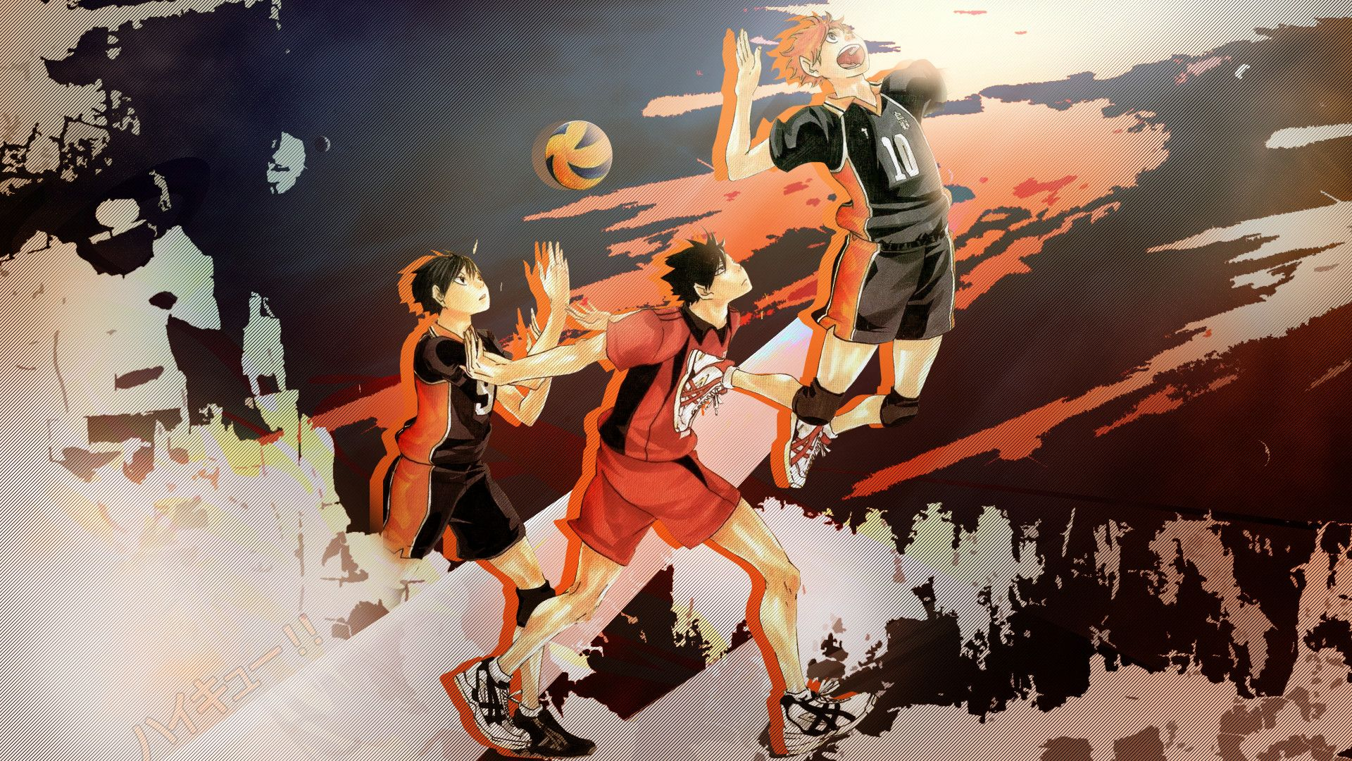 1920x1080 Anime Wallpapers Haikyuu Hd 4k Download For Mobile Iphone Pc Haikyuu Lucu Iphone