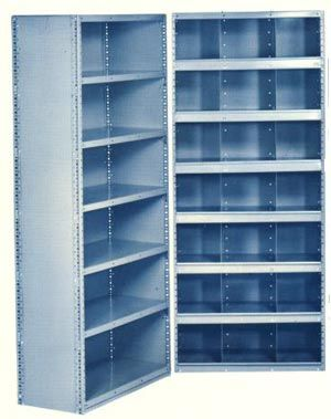 18 gauge closed steel 5 shelf shelving units are heavy duty commercial grade shelfu0027s that are