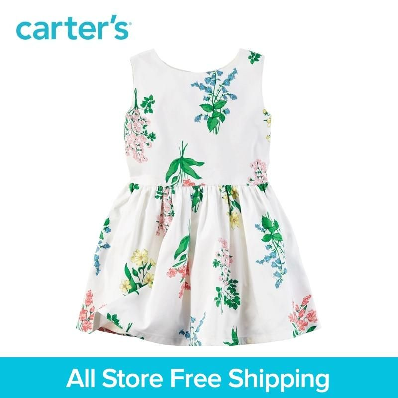 fe65b2034d820 Carter's 1pcs baby children kids Sateen Floral Dress 251G336,sold by  Carter's China official store. Yesterday's price: US $46.00 (41.06 EUR).