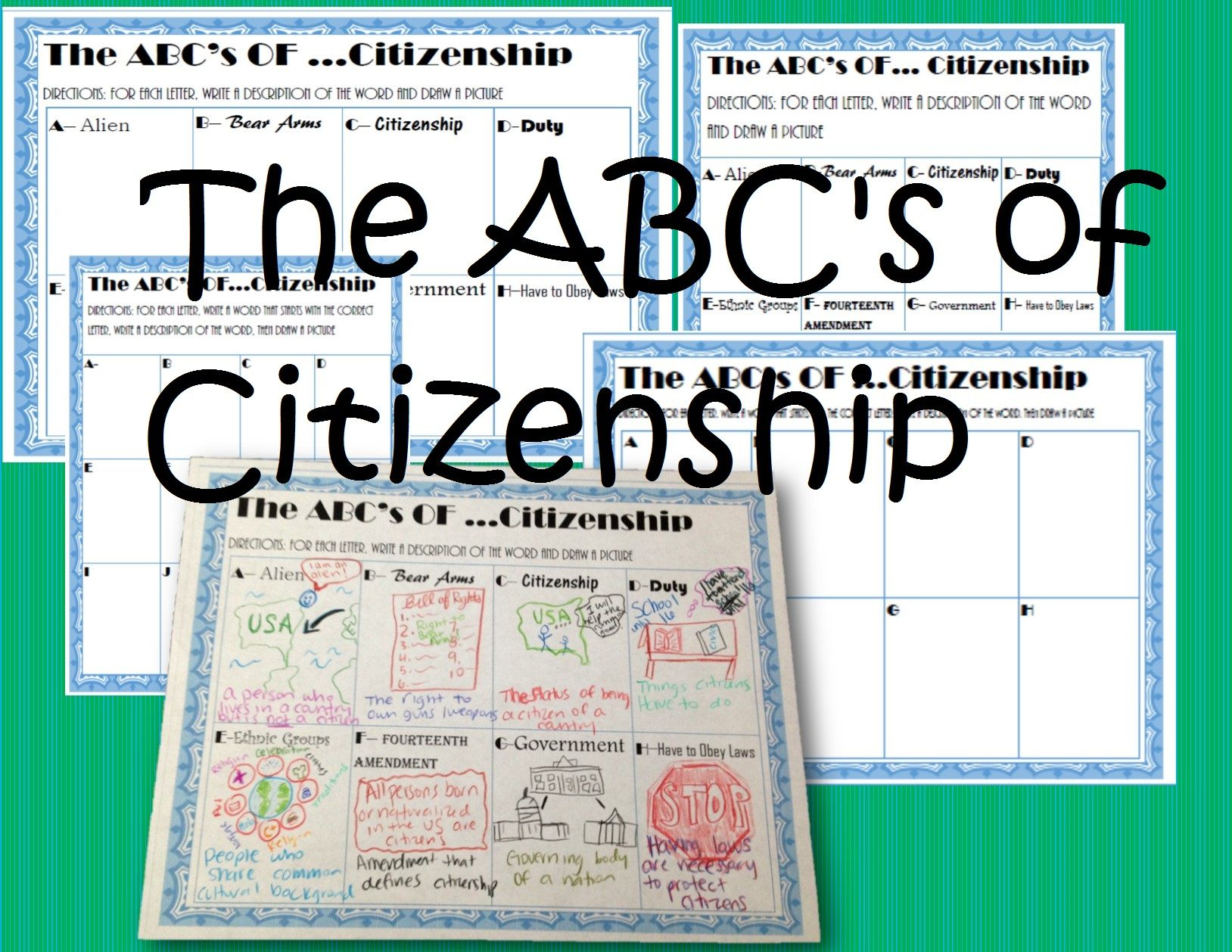 Pin On 7th Grade Civics Activities