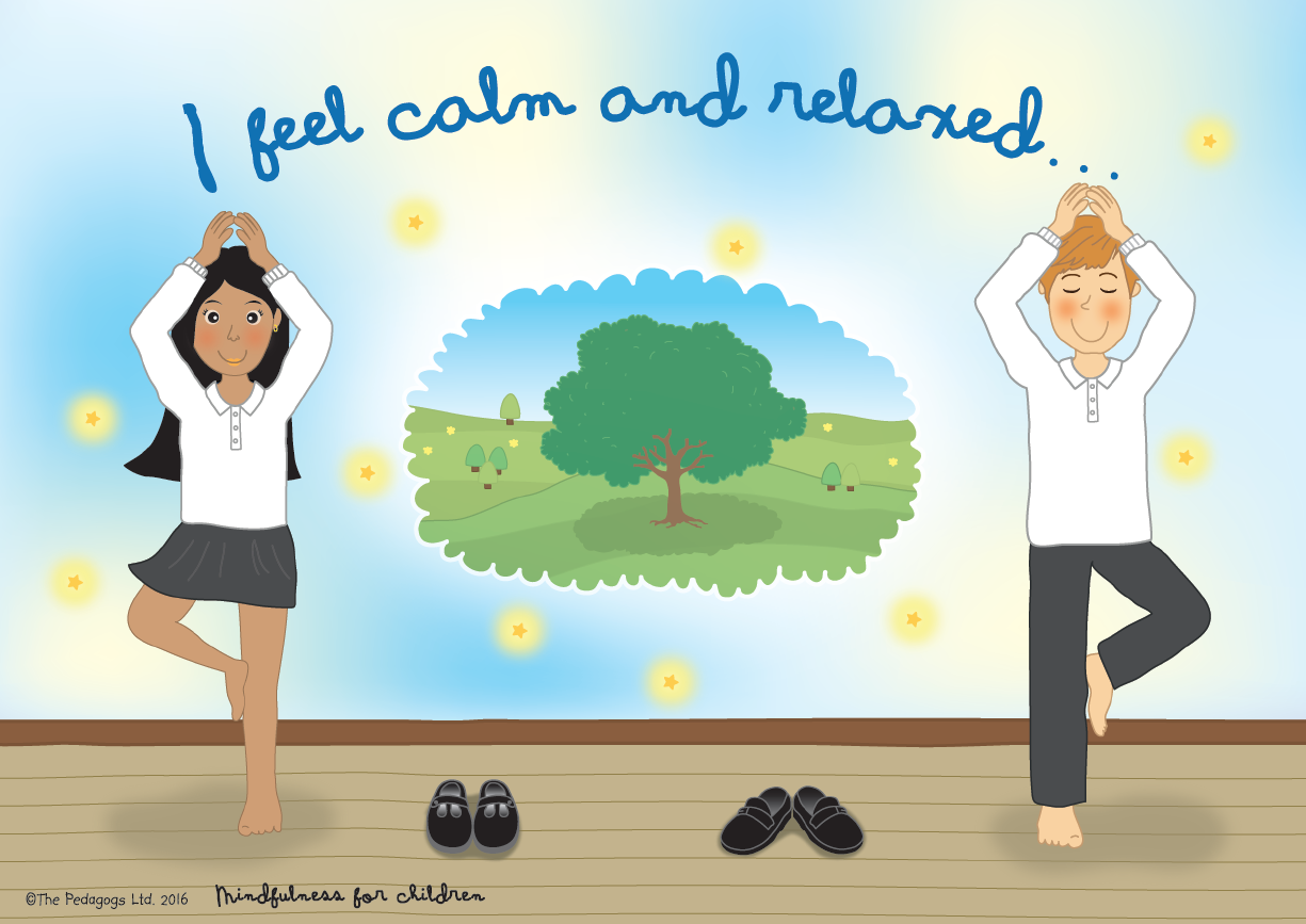 Mindfulness for children from The Pedagogs http