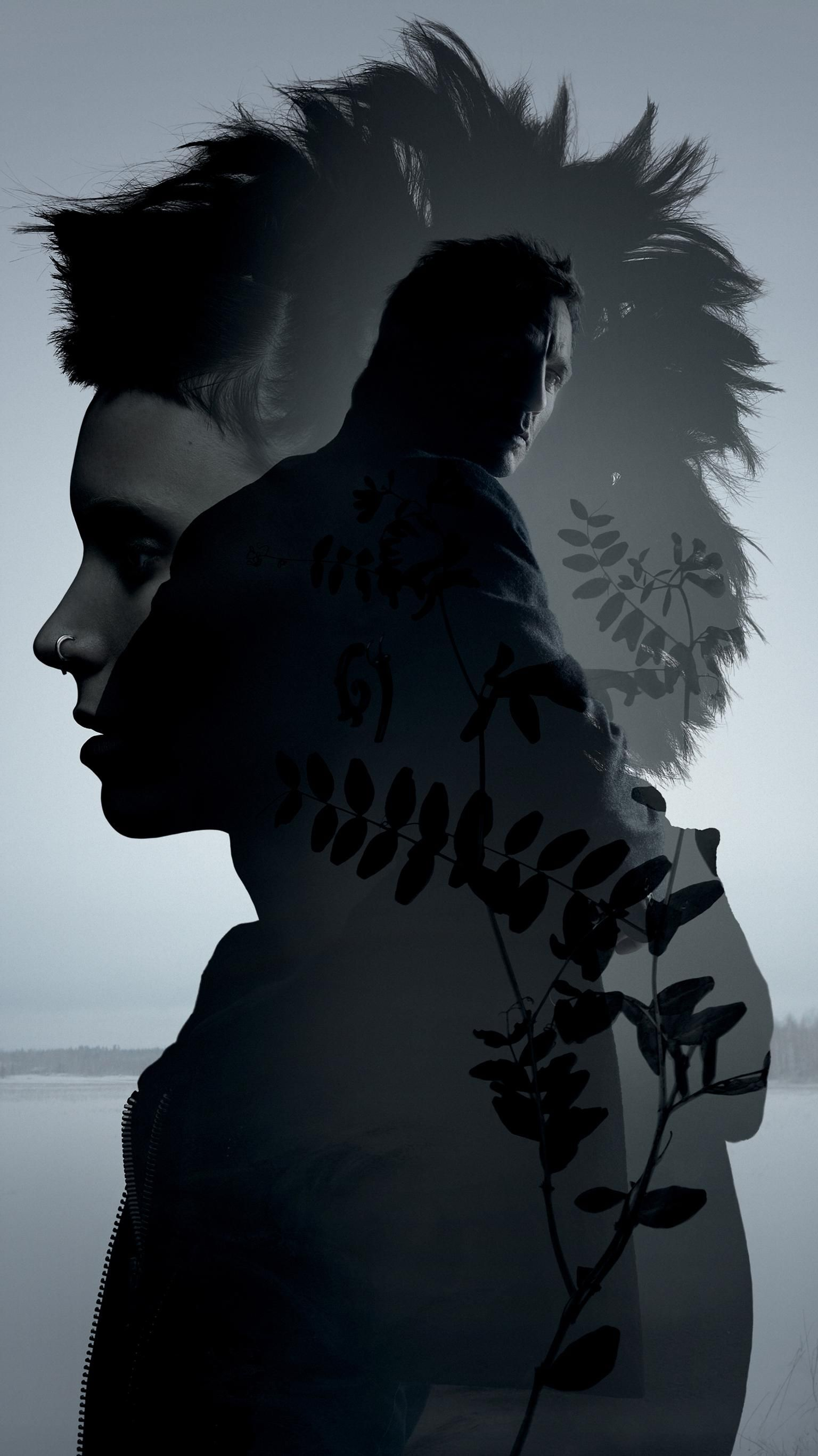 The Girl with the Dragon Tattoo (2011) Phone Wallpaper в