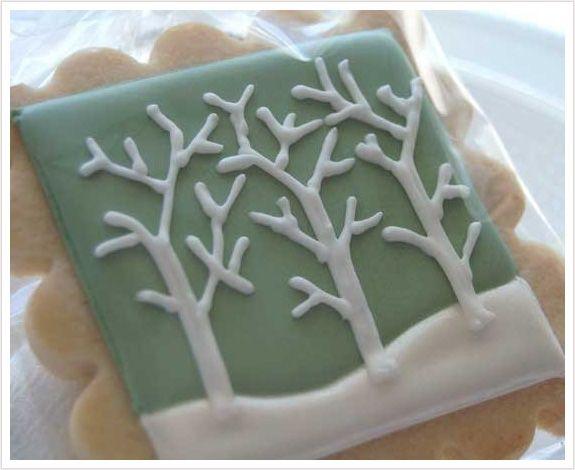 Photo of Winter Branch Cookies
