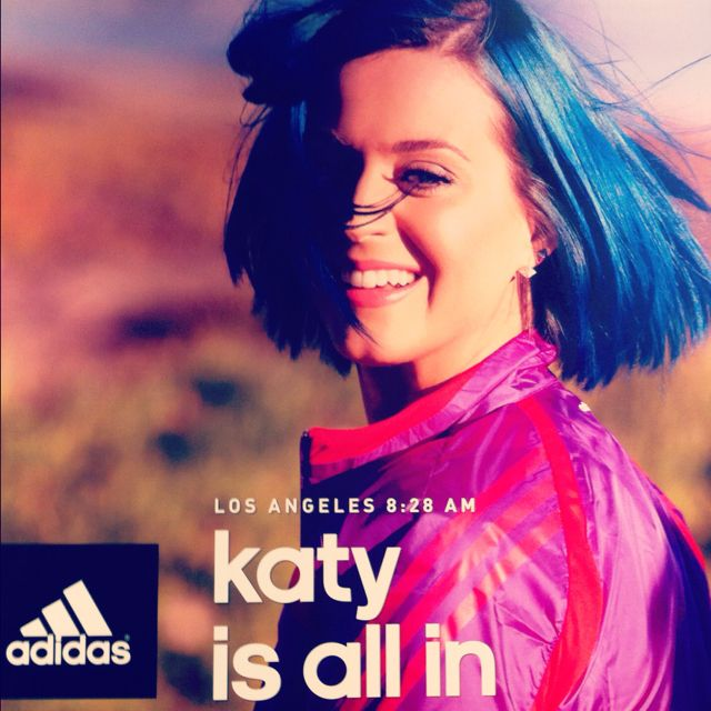 """Is all in"" By Adidas."