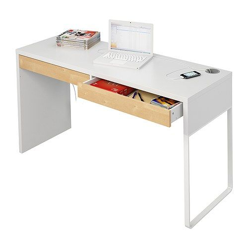 micke bureau wit micke desk desks and birch. Black Bedroom Furniture Sets. Home Design Ideas