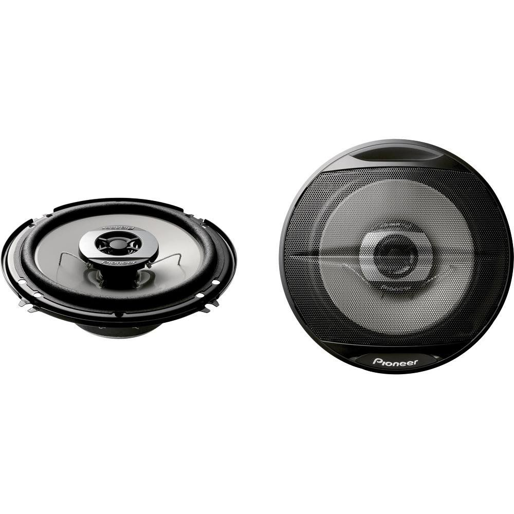 PLMRB85 1 Pair Black 2 Way IP44 Waterproof Pyle 6.5 Inch Dual Marine Speakers Weather Resistant Outdoor Audio Stereo Sound System with 200 Watt Power and Poly Mica Cone and Butyl Rubber Surround