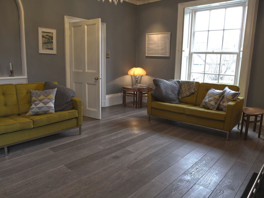 Grey Wood Flooring Bespoke Old Grey Natural Wood Flooring Real