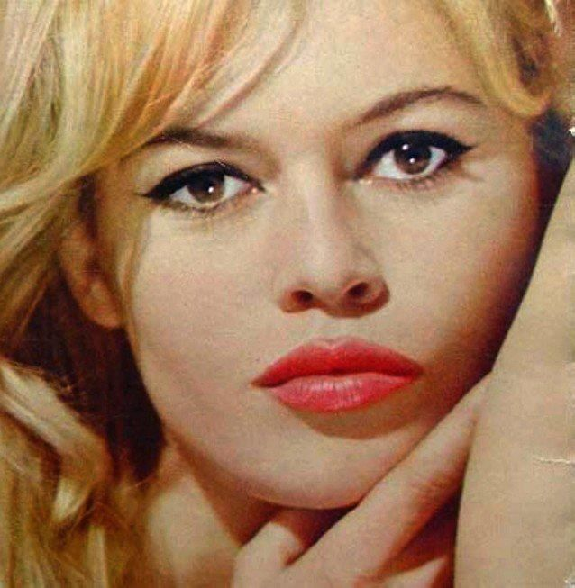50's -60's make up ~ Brigitte Bardot pinned with Pinvolve ...