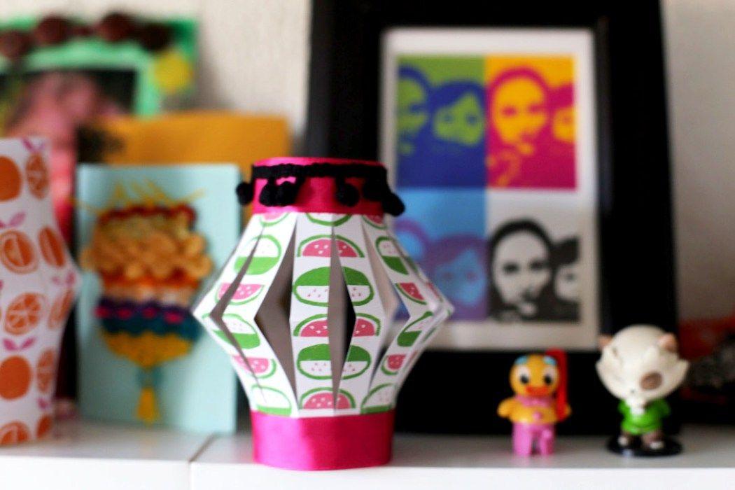 lampions en papier diy craft | Eloely