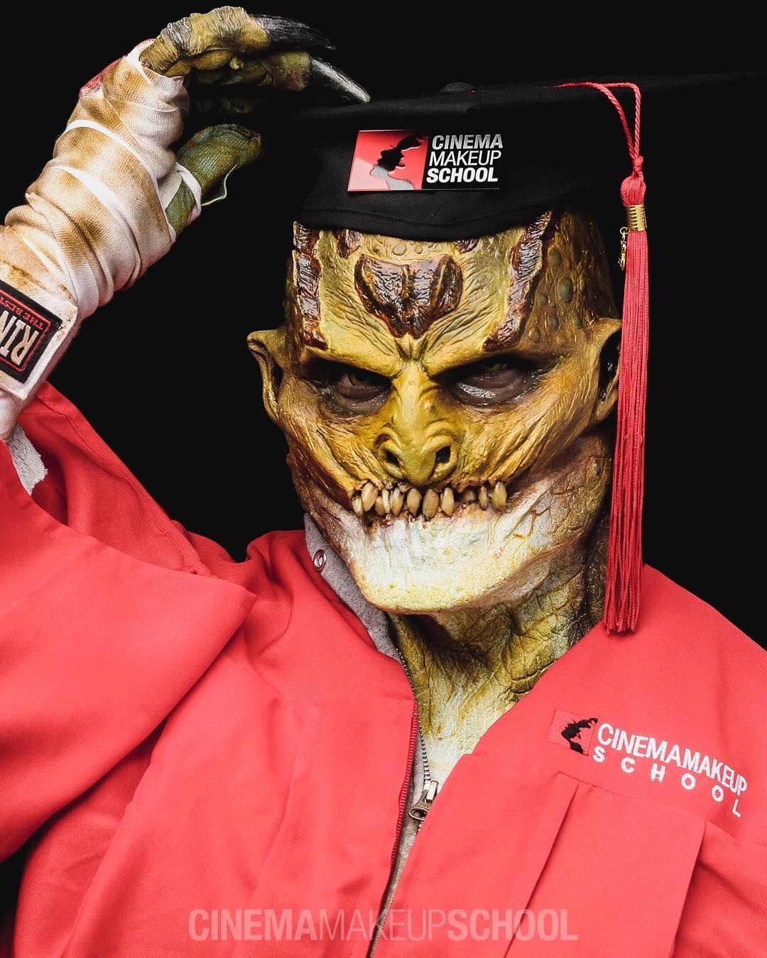 Crocodile prosthetics Cinema makeup school