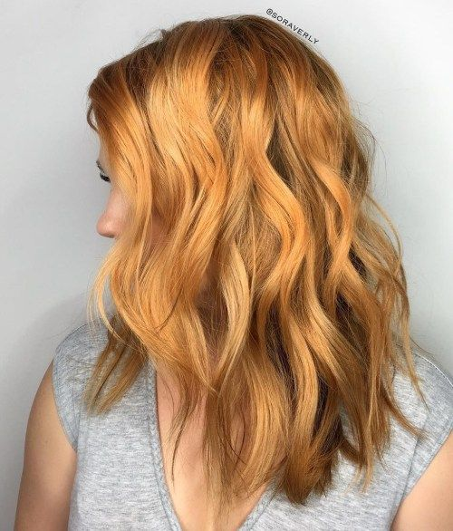Medium Golden Blonde Hair