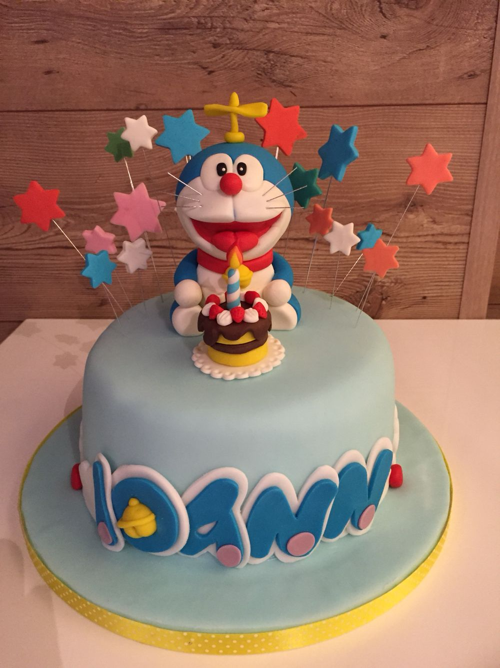 Doraemon | Doraemon cake, Fondant cakes