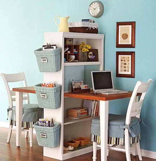 Amazing Small Home Office Desk Ideas Part - 9: 18 DIY Desks To Enhance Your Home Office