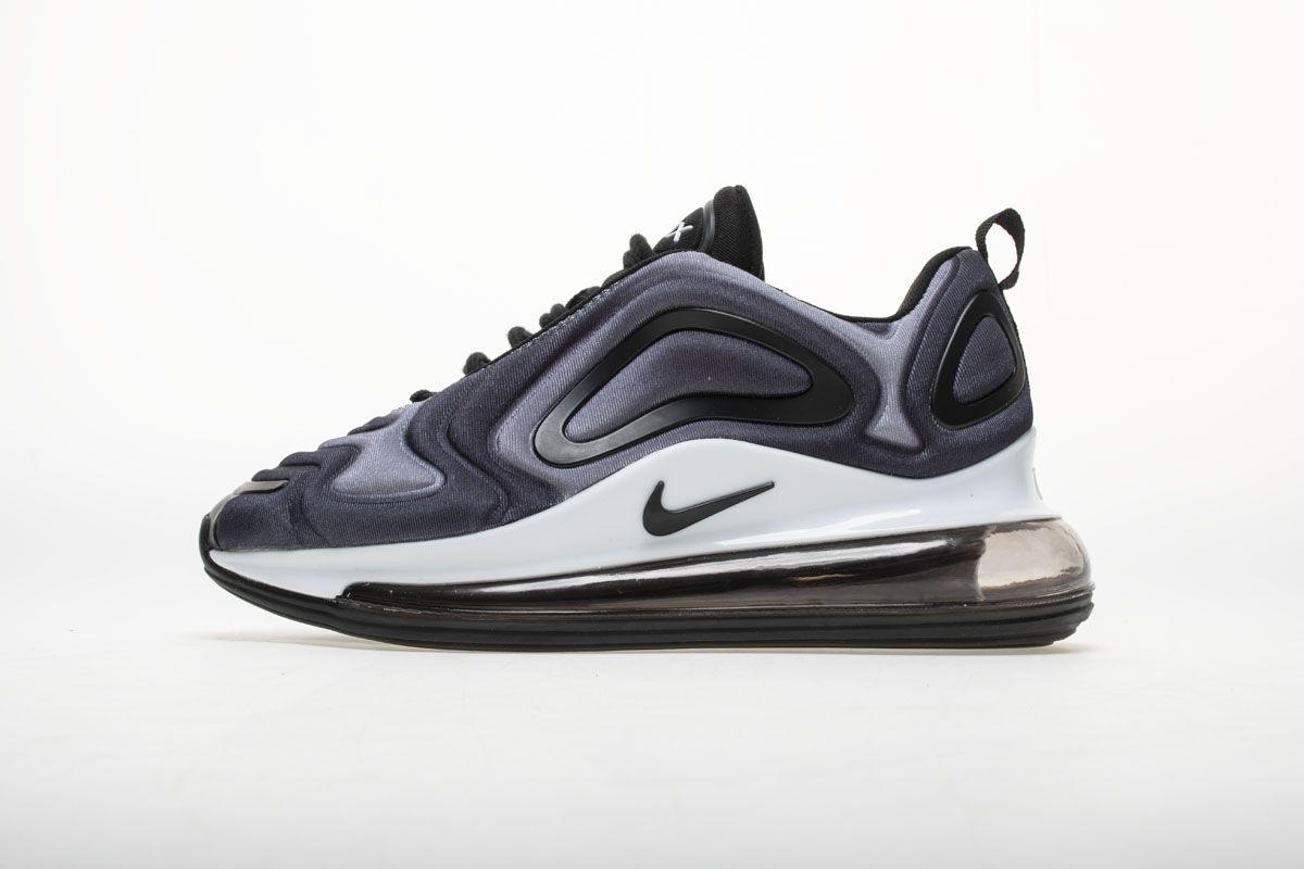 49ea81cd0d49 Nike Air Max 720 Black White AR9293-001 Sneaker 1