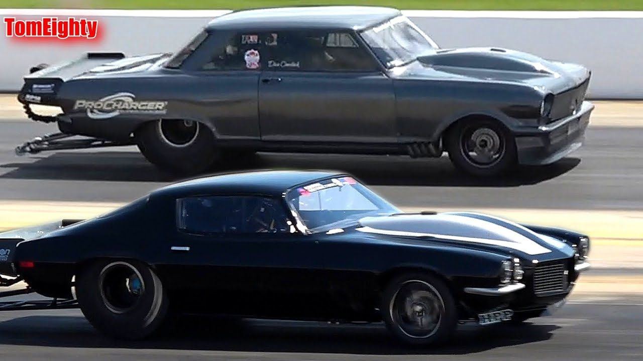 Street Outlaws Daddy Dave vs Monza Street outlaws