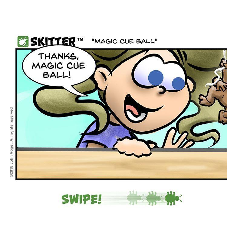 "John Vogel on Instagram: """"Magic Cue Ball"" #billiards #pool"