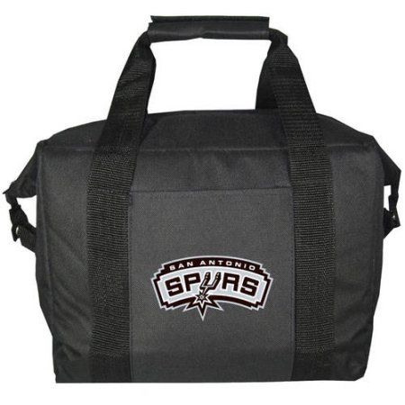 NBA San Antonio Spurs 12-Pack Kooler Bag, Black