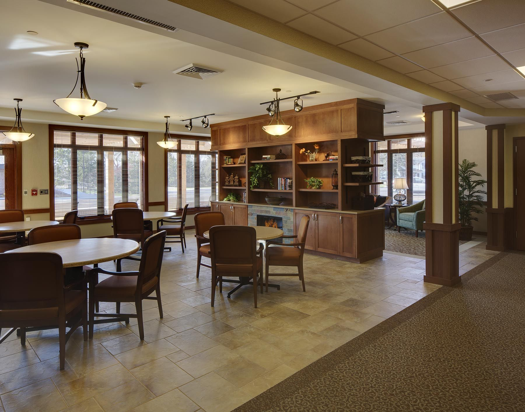 Hickory Suites Rehabilitation Dining Room Not Your Grandma S Skilled Nursing Rehab Center In