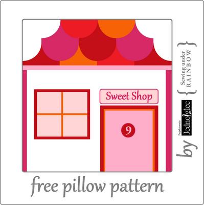 Sweet Shop pillow