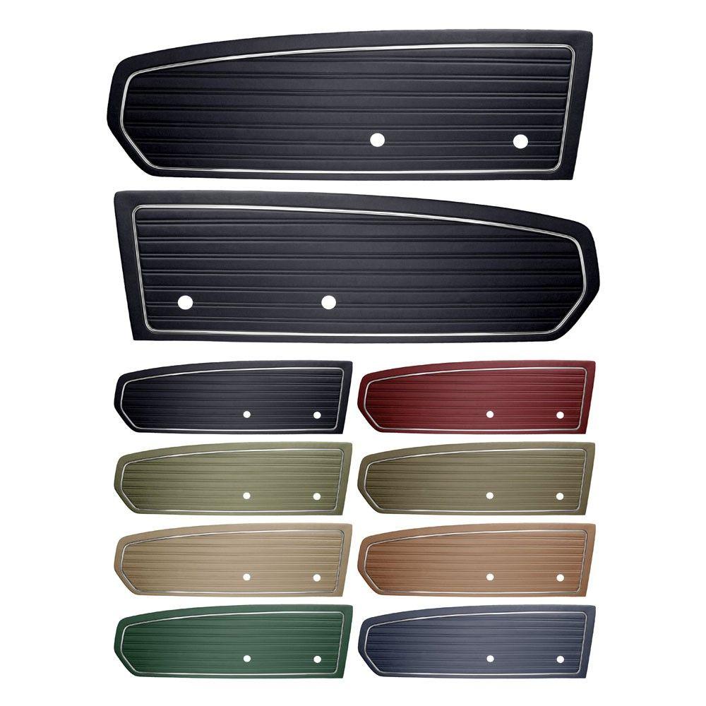 Tmi Door Panel Standard Pair 1968 Panel Doors Paneling Doors