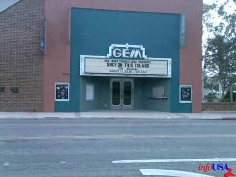 Gem Theatre Garden Grove Ca I Remember This Theater Saw It S