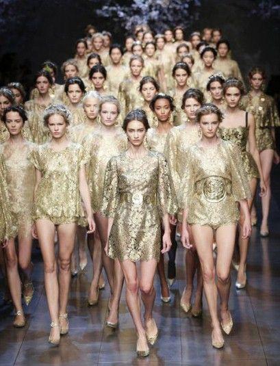 Dolce & Gabbana Spring/Summer 2014.