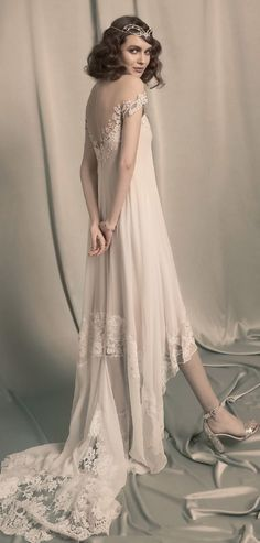 Hila Gaon 2017 Bridal Collection Feminine Glamorous And Authentic Vintage From The 1920s Wedding Dress
