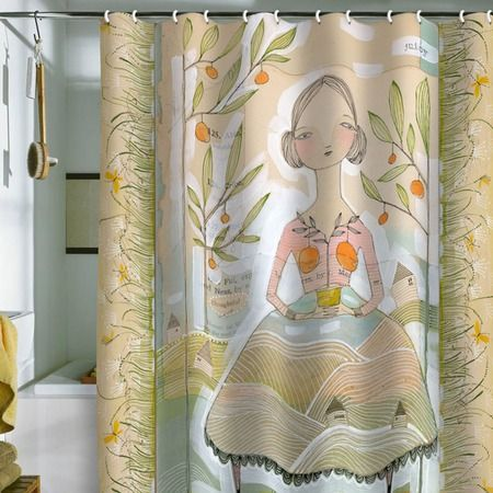 Always Thoughtful Shower Curtain from the Cori Dantini event at Joss and Main!