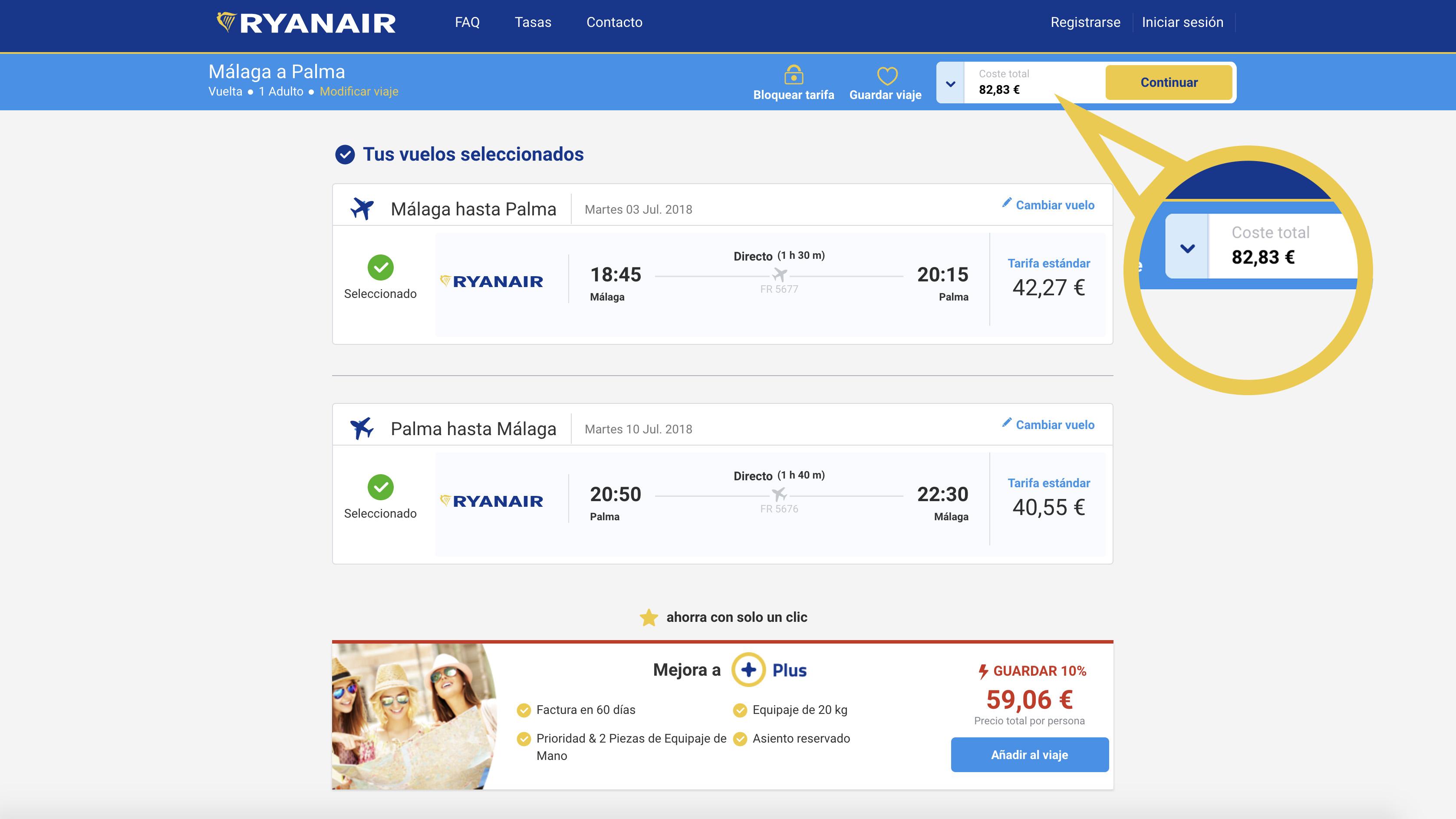 Cómo conseguir vuelos baratos con Ryanair