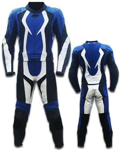 Blue And White Motorcycle Leather Suit Motorcycle Leathers Suit Bike Suit Motorcycle Leather