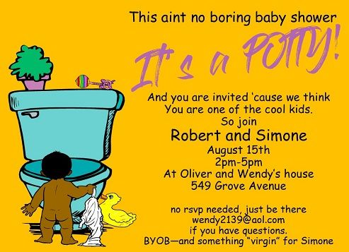 Interracial baby shower invitations are