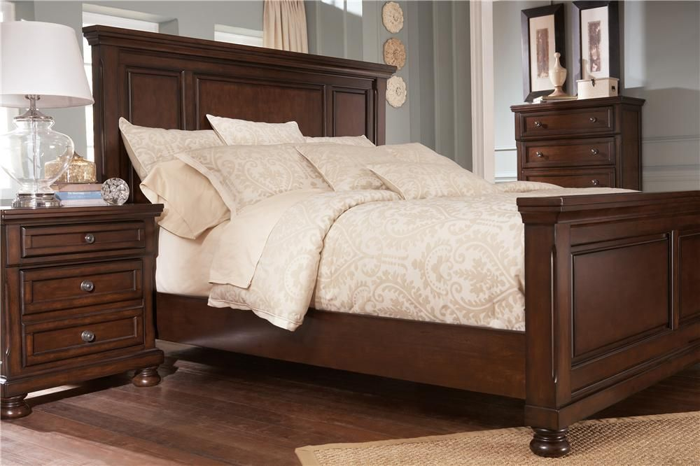 Best Porter King Panel Bed By Ashley Furniture Furniture 400 x 300