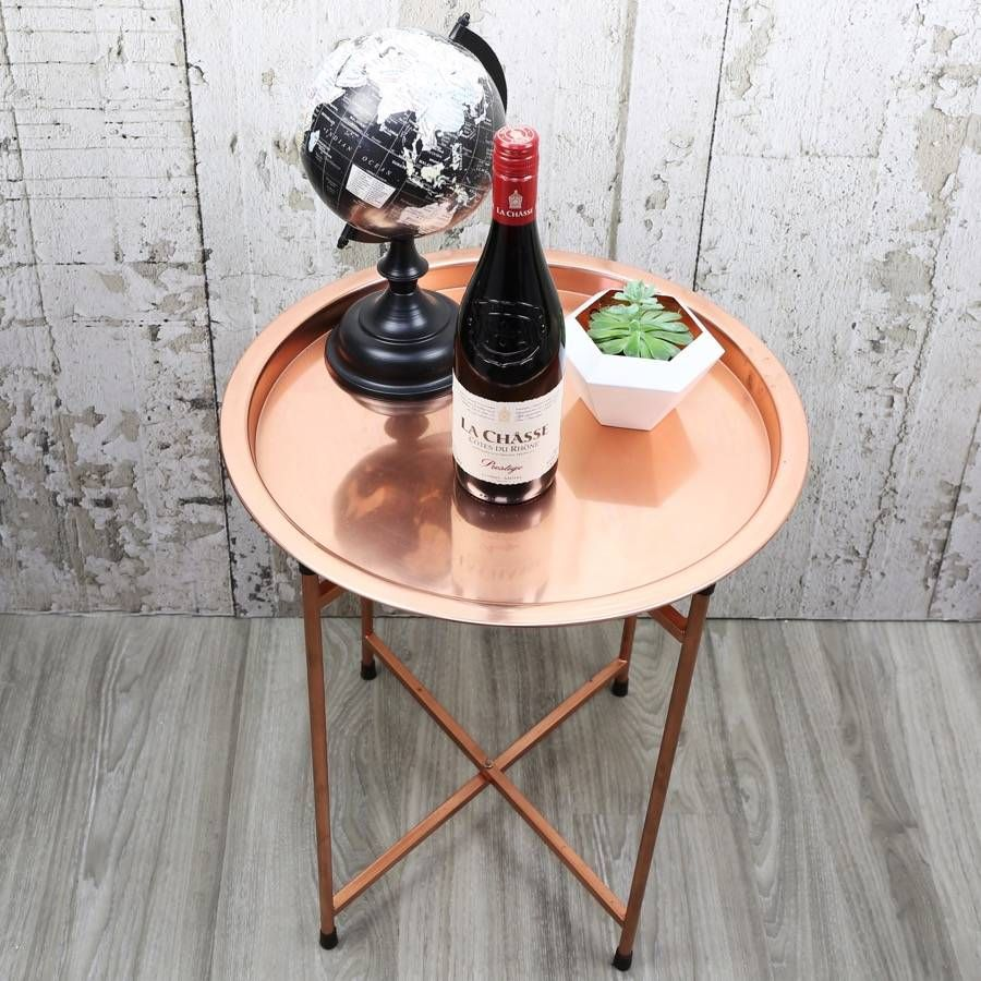 This On Trend Copper Coffee Table Is The Perfect Statement