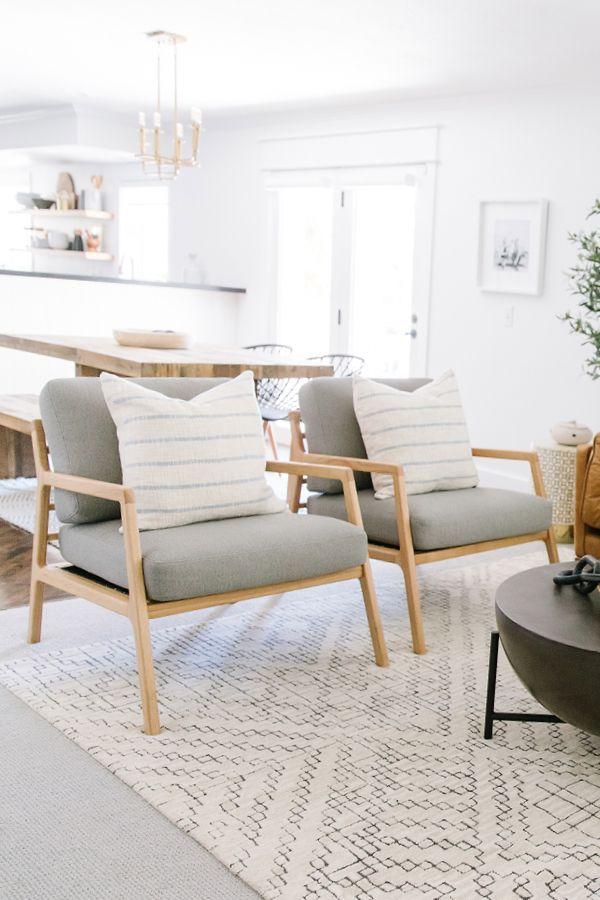 Denman Vapor Gray Chair Living Room Scandinavian Interior Design Scandinavian Interior Design