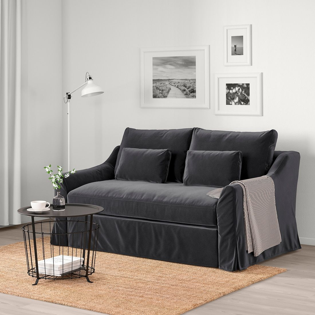 Farlov Sleeper Sofa Djuparp Dark Gray Sleeper Sofa Sofa Bed Sofa