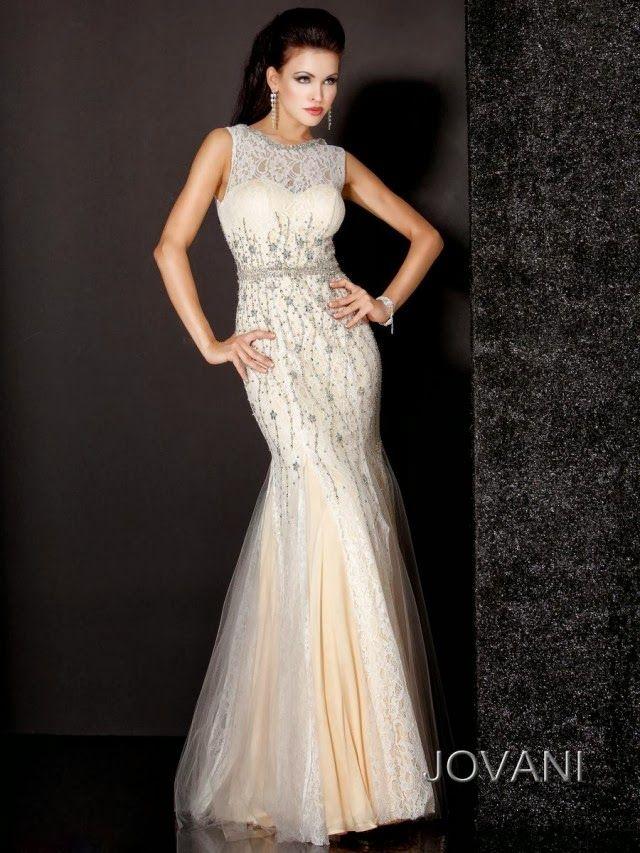 Exclusivos vestidos de noche Coleccion Jovani 2013 - 2014 moda