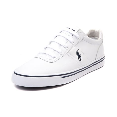 Shop for Mens Hanford Casual Shoe by Polo Ralph Lauren in White Leather at  Journeys Shoes