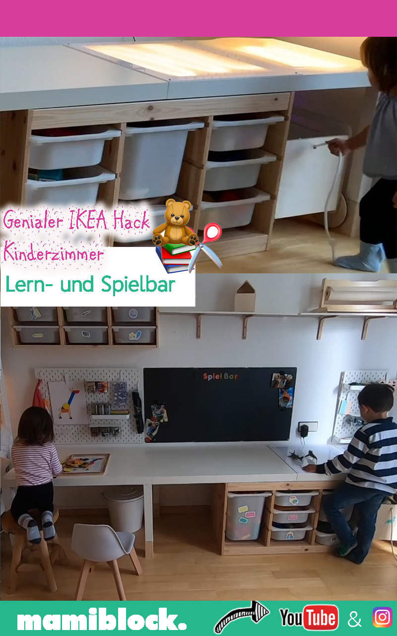 Photo of Ingenious Ikea hack for the children's room: learnable and playable