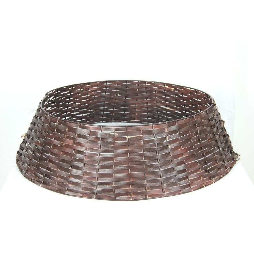 25 in. Rattan Tree Stand Cover-BOWOTSWTH2 - The Home Depot ...