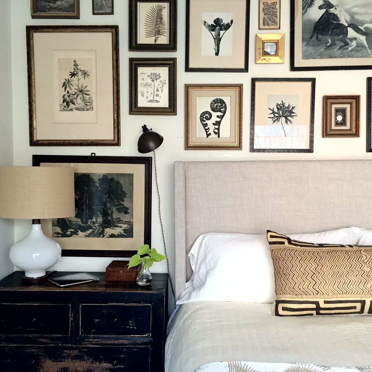 Pin by Nina J on gallery wall Master bedrooms decor