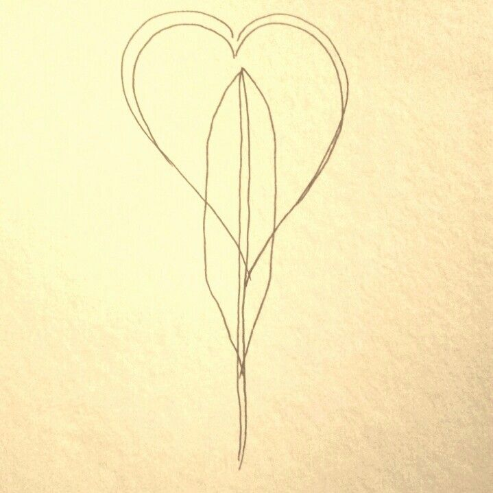 The Heart And The Feather Symbols For The Egyptian Goddess Of
