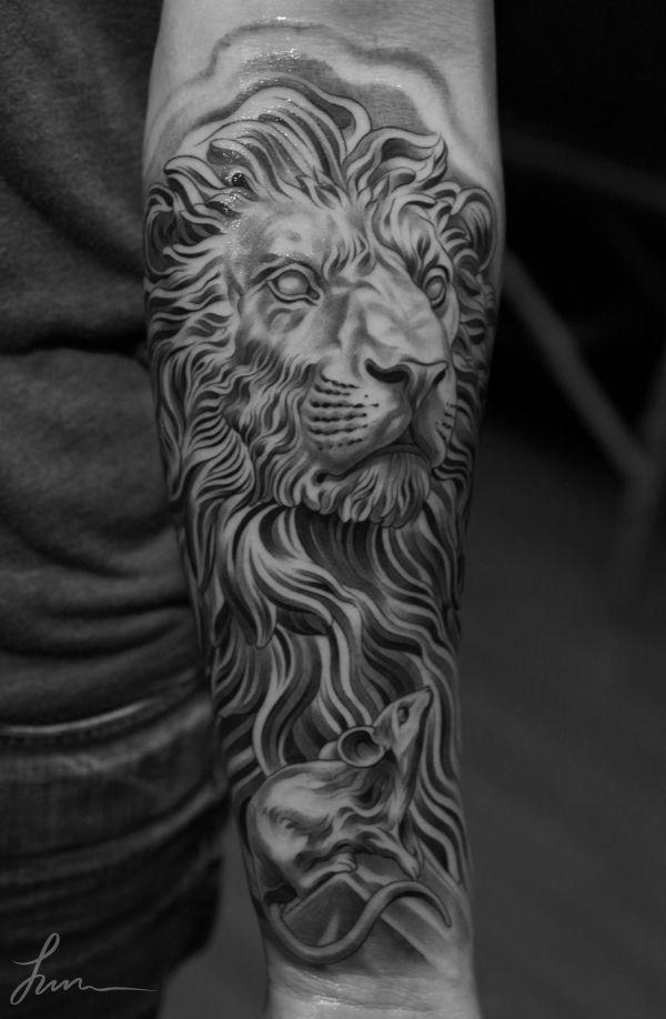 50 Examples Of Lion Tattoo Cuded Lion Head Tattoos Mens Lion Tattoo Lioness Tattoo Design