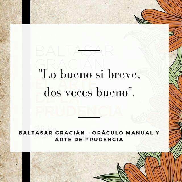 Oráculo Manual Y Arte De Prudencia Baltasar Gracián Citas Literarias Citas En Español Citas