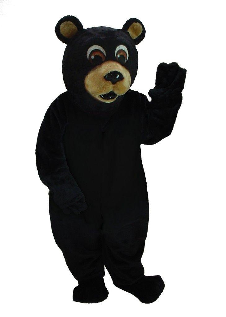 Buy Big Black Bear Costume Mascot 21037 at Costume-Shop.com  sc 1 st  Pinterest & Black Bear Mascot Costume   Pinterest   Bear costume Costume shop ...