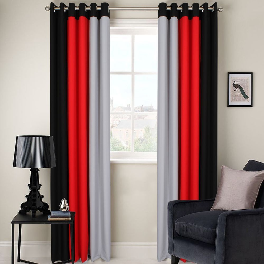 32+ Dark red curtains for living room info