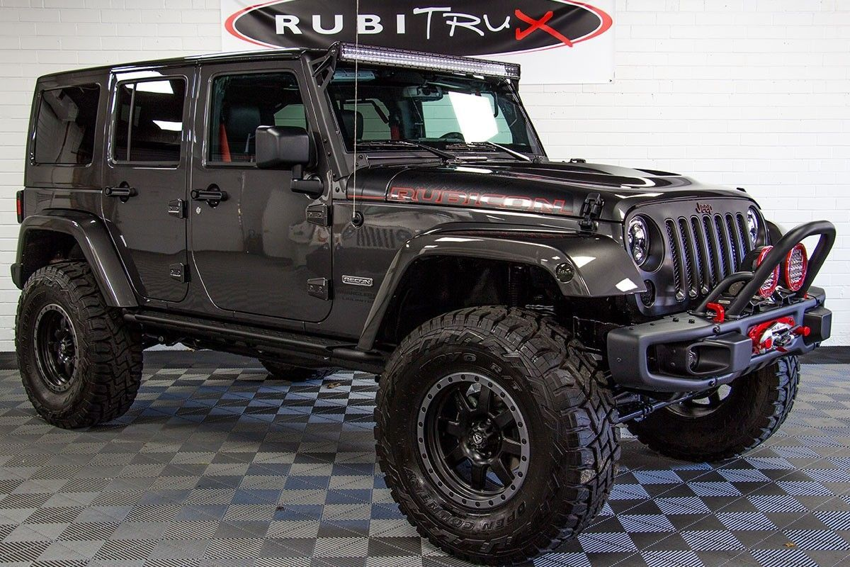 2017 Jeep Wrangler Rubicon Recon Unlimited Billet Jeep Wrangler Rubicon Jeep Wrangler 2017 Jeep Wrangler