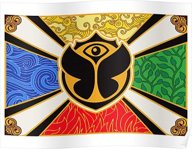 Tomorrowland Flag Poster Products Pinterest Poster Flag And Music
