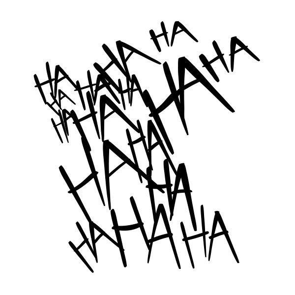 Joker Ha Ha Ha Tattoo: The Joker T-Shirt Liked On Polyvore Featuring Tops, T