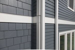 James Hardie Fiber Cement Siding In Evening Blue With